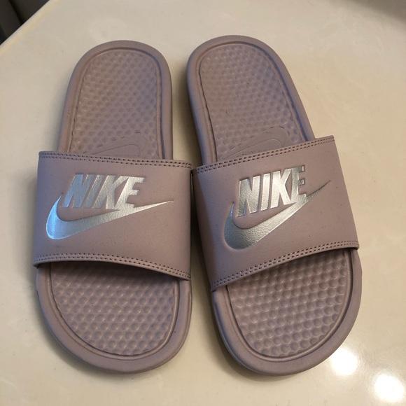 Nike Shoes | Nike Slides Light Purple